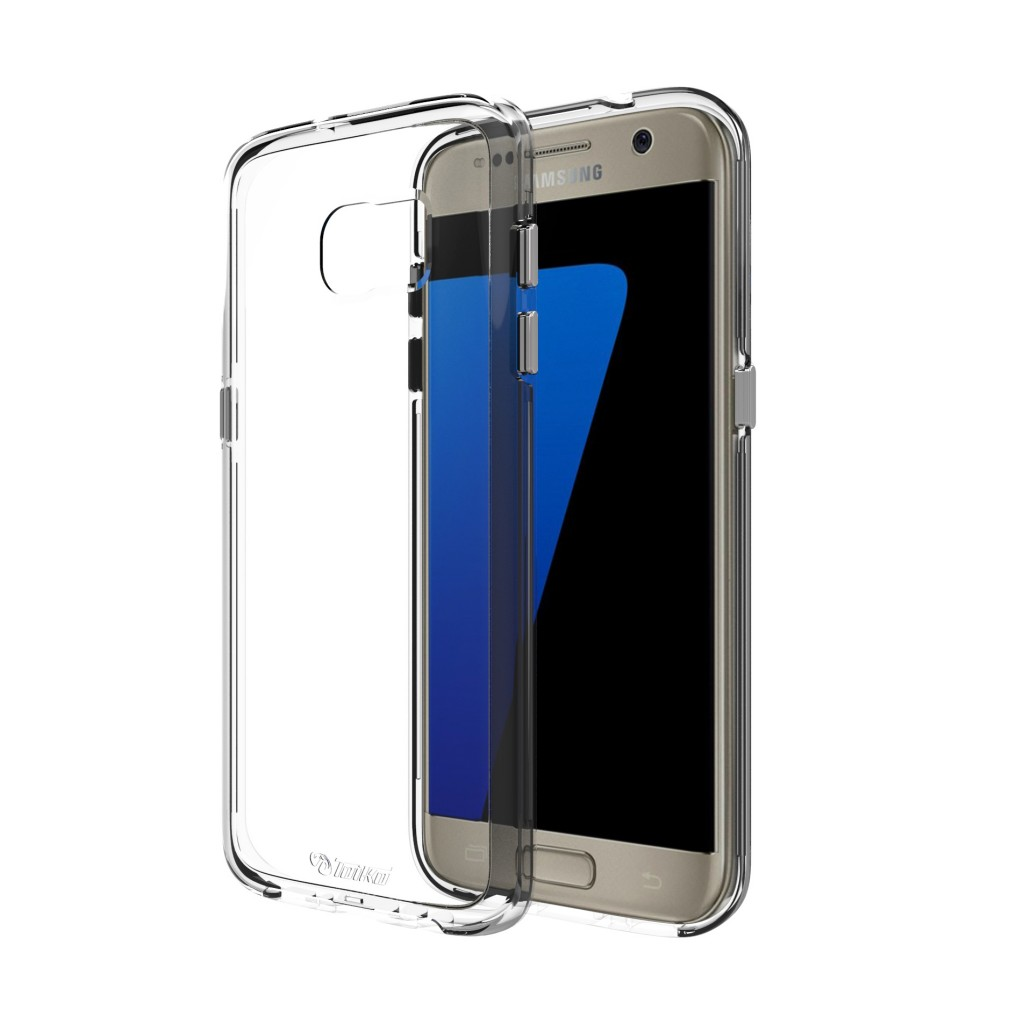 כיסוי שקוף Clear של חברת Toiko למכשירי Samsung Galaxy S7 Edge