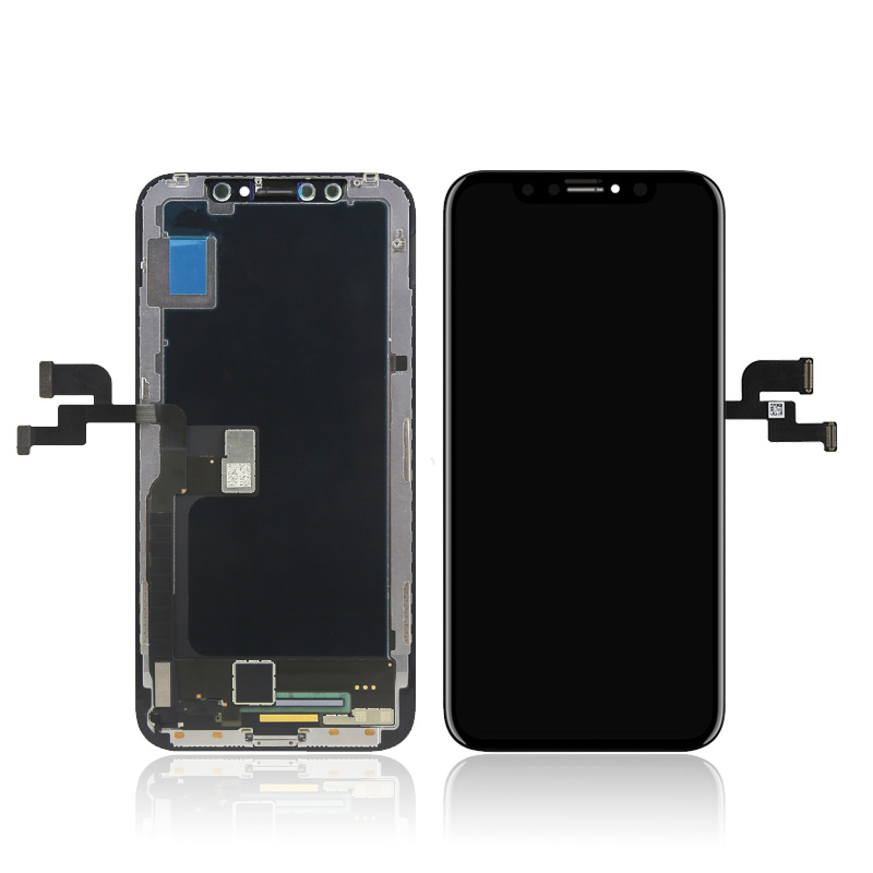 החלפת מסך LCD+חלופי Apple iphone X אפל